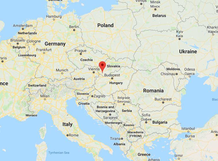 Dunajska Streda - ideal geographical position