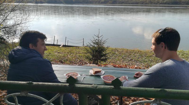 At Danube shore